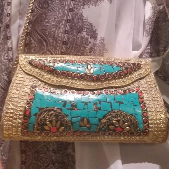 AJ Moore Handbags - Wow! STUNNING Clutch!